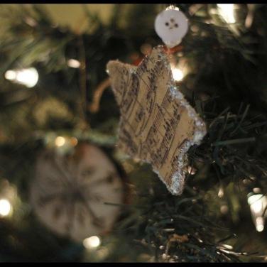 100 handmade ornaments.