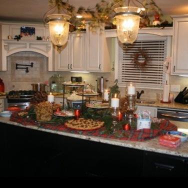 Last Carthage house Christmas Open House 2010.